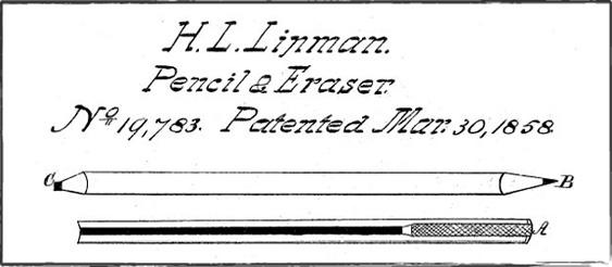 hymen_lipman_patent