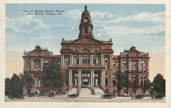 tarrant co courthouse