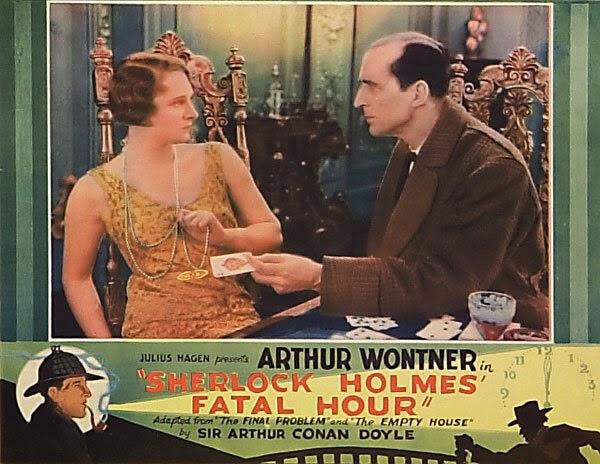 Sherlock Holmes Fatal Hour lobby card