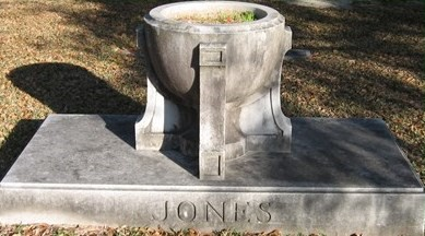 Keggy Jones grave