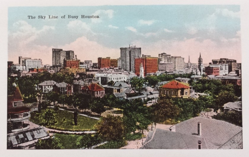 pc Houston skyline 1920s